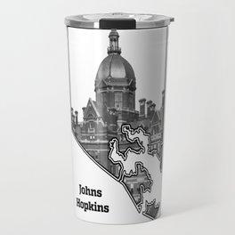 Hopkins White Travel Mug