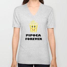 Pipoca Forever Unisex V-Neck