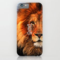 BOLD AS LIONS Slim Case iPhone 6s