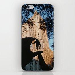 Give Me A Hand iPhone Skin