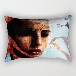 memories of sadness Rectangular Pillow