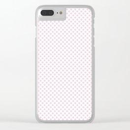 Ballet Slipper Polka Dots Clear iPhone Case