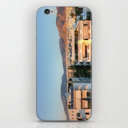 Evening Light Over Athens iPhone Skin