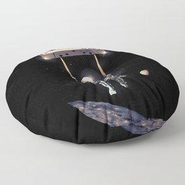 Deep Space Mix Tape Floor Pillow