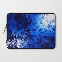 Blue Marble Dream Abstract Laptop Sleeve