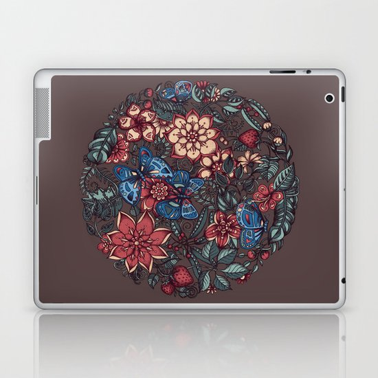 Circle of Friends in Colour Laptop & iPad Skin