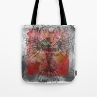 anatomy Tote Bags featuring anatomy by kumpast
