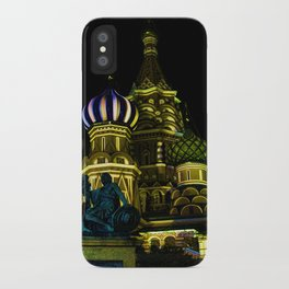 Saint Basil's Cathedral, Moscow iPhone Case