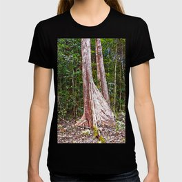 Buttress root in the rainforest T-shirt