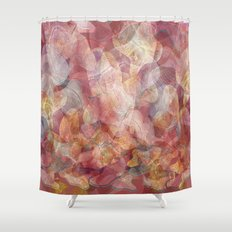 Lines and shapes artwork Shower Curtain