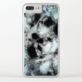 Searching for animal tracks Clear iPhone Case