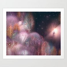 Autumn Forest Art Print