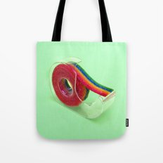 RAINBOW TAPE Tote Bag