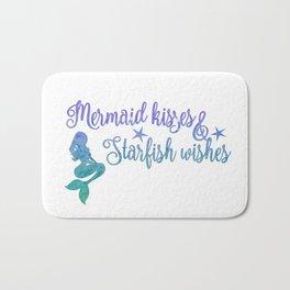 Mermaid Kisses Starfish Wishes Bath Mat