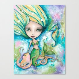 Mermaid Connection Canvas Print
