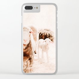Milly's family portrait Clear iPhone Case