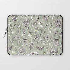 Witchcraft Pattern Laptop Sleeve