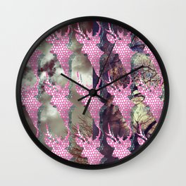 Distance Wall Clock