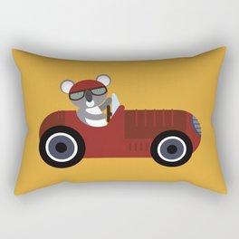 Koala Racer Rectangular Pillow