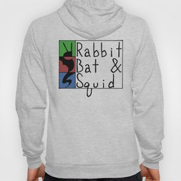 Rabbit Bat & Squid Hoody