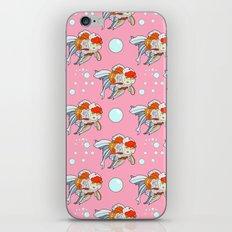 Lion Head Goldfish Pink iPhone Skin