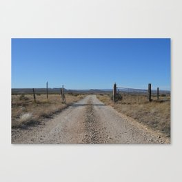 West Texas Horizon Canvas Print