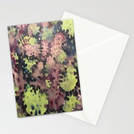 Moss- Fantasy Oil Pastel  Stationery Cards
