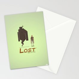 Pixel Art Lost Stationery Cards