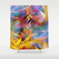 prism Shower Curtains featuring Prism by renajoy