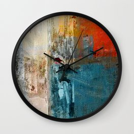 Lonely Girl Wall Clock