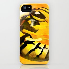 Frozen Wasp iPhone Case