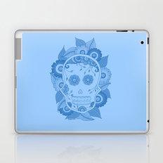 Blue Skull Laptop & iPad Skin