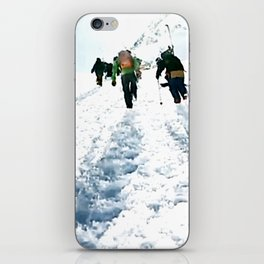 Going up iPhone Skin