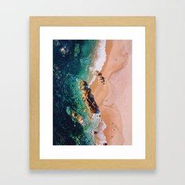 Miramar Beach Framed Art Print