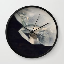 Crystal and Clear Wall Clock