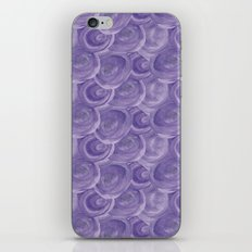 Watercolour Blue iPhone & iPod Skin