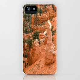 Bryce Canyon National Park Queens Garden Trail Hiking iPhone Case