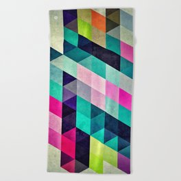 Cyrvynne xyx Beach Towel