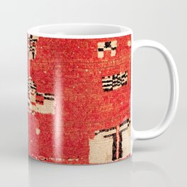 Haouz  Antique Morocco North African Pile Rug Coffee Mug