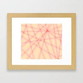 Lines, many lines Framed Art Print