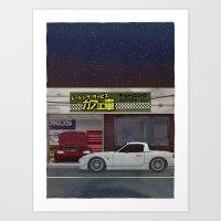 RS Cafesha - NB Roadster Art Print