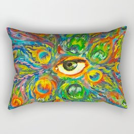 Peeking (2 of 3) Rectangular Pillow