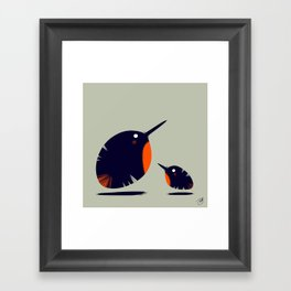 Of a Feather 1 Framed Art Print