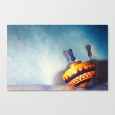 Toy Top Canvas Print
