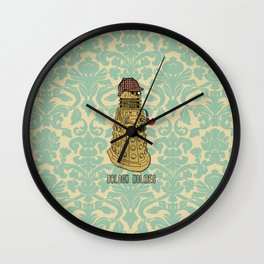 Dalock Holmes - the Sherlock Dalek!  Wall Clock