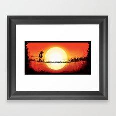 The Last Iron Sword Framed Art Print