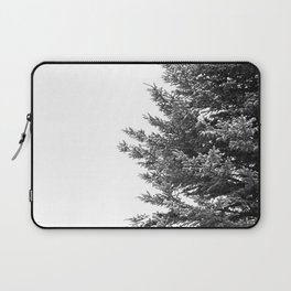 B&W Spruce Branches Laptop Sleeve