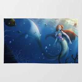 Under the sea - The little mermaid Rug