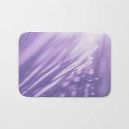 Ultra Violet Palm Tree Pattern| Trendy color of year 2018 Bath Mat