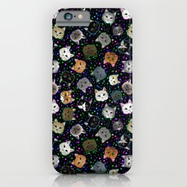 Cosmic Cats iPhone Case